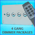 4 Gang Dimmer Packages