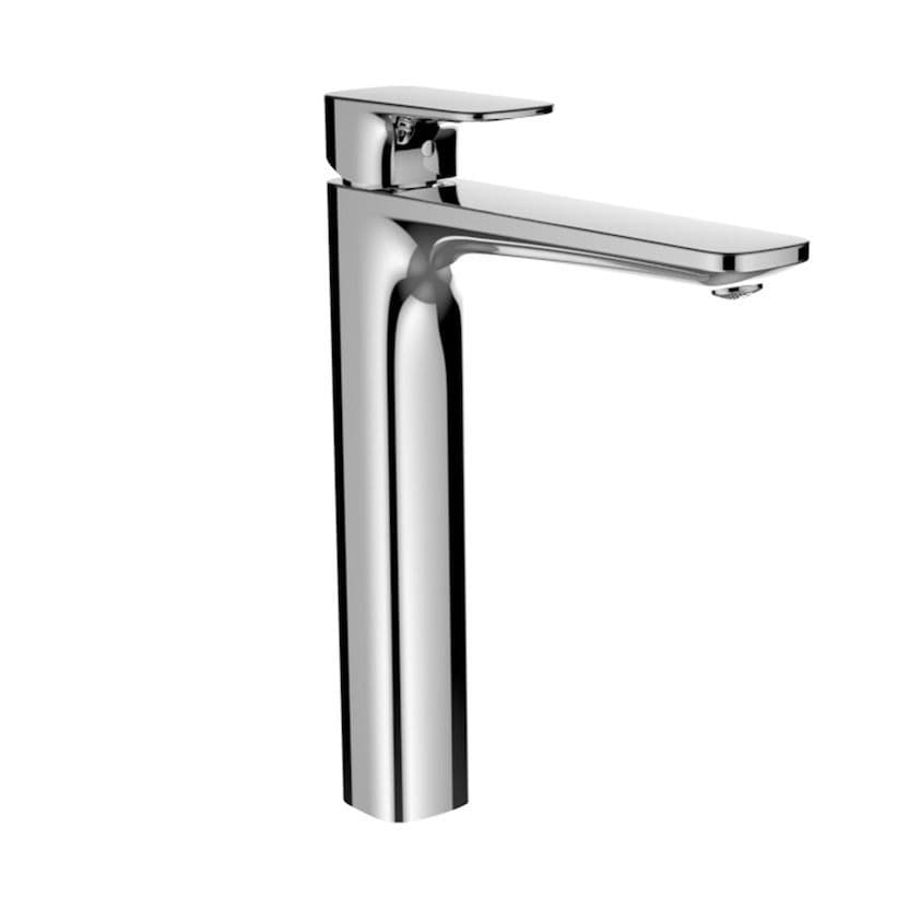 311758 - Laufen City Plus Column Single Lever Basin Mixer Tap with 191mm Spout - 3.1175.8