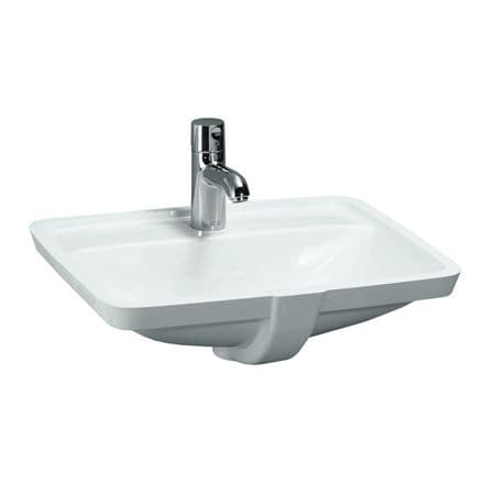 811966 - Laufen Pro S 490mm x 360mm Built-In Washbasin - 8.1196.6
