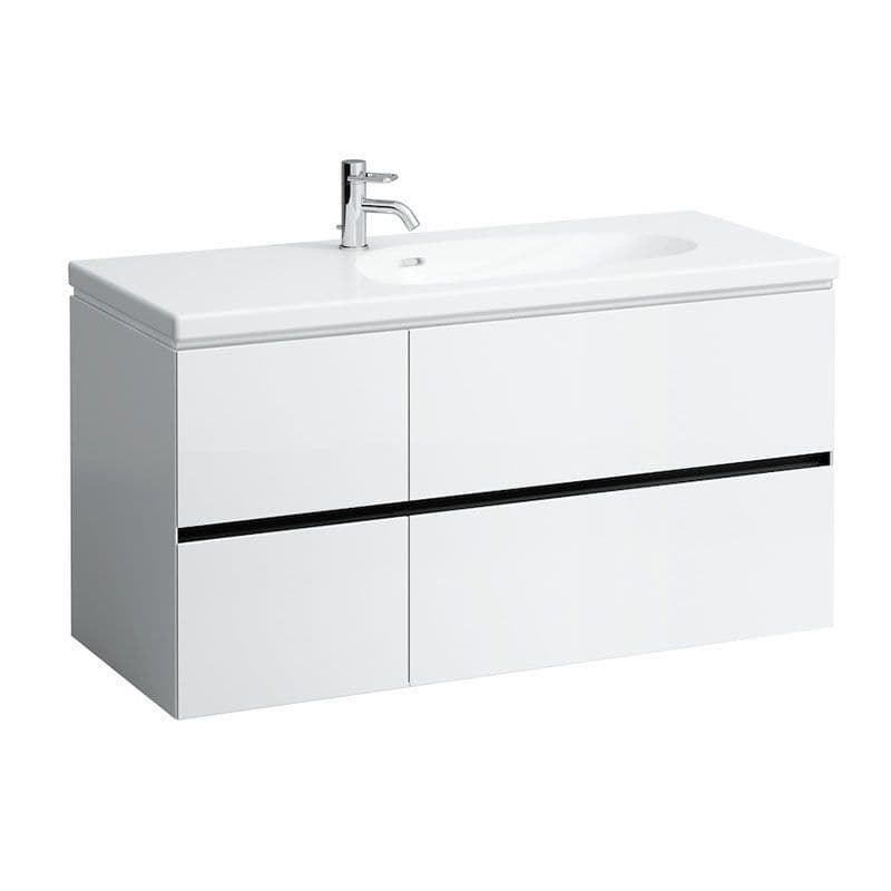 814806 - Laufen Palomba 1200mm x 500mm Washbasin & Vanity Unit - 8.1480.6