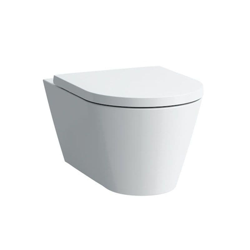820337 - Laufen Kartell Wall Hung Rimless WC / Toilet Pan For Concealed Cisterns - 8.2033.7