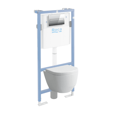 820966 - Laufen Pro Wall Hung Rimless WC / Toilet Set - 8.2096.6