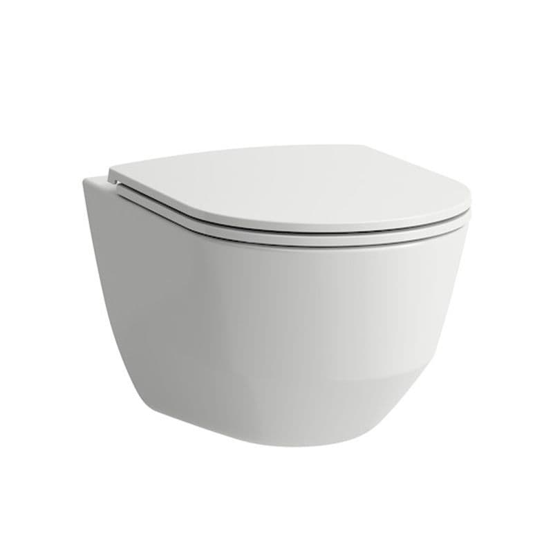 820966 - Laufen Pro Wall Hung Rimless WC / Toilet Pan For Concealed Cistern - 8.2096.6