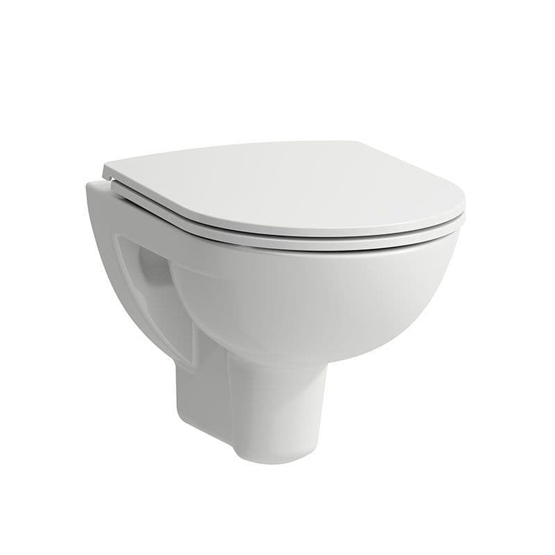 821952 - Laufen Pro Compact Wall Hung Rimless WC / Toilet Pan For Concealed Cistern - 8.2195.2