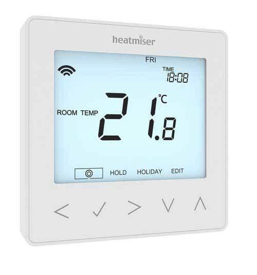 Heatmiser neoStat V2 Programmable Thermostat - Glacier White