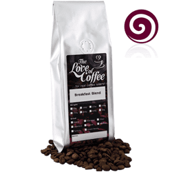 Breakfast Blend Coffee | Blended Coffees | Prepared to order and packed for next day delivery.