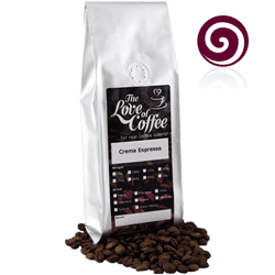 Crema Espresso Coffee | Blended Coffees | Mail Order Coffee | Buy online for next day delivery.