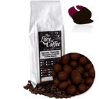 Dark Chocolate Orange Flavoured Chocolate Covered Coffee Beans